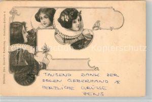 AK / Ansichtskarte Jugendstil Renaissance