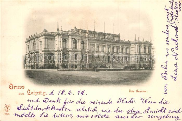AK / Ansichtskarte Leipzig Museum Leipzig