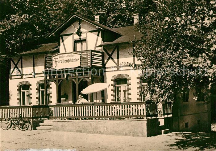 AK / Ansichtskarte Liegau Augustusbad Forellenschaenke Liegau Augustusbad