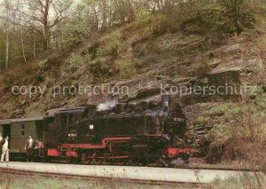 AK / Ansichtskarte Lokomotive Schmalspurbahn Freital Hainsberg Kipsdorf