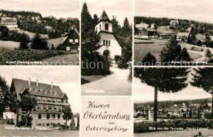 AK / Ansichtskarte Oberbaerenburg_Baerenburg Teilansichten Waldkapelle FDGB Ferienheim Friedenswacht Oberbaerenburg Baerenburg