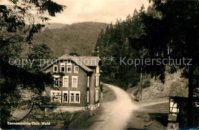 AK / Ansichtskarte Schleusegrund Tannenmuehle Schleusegrund