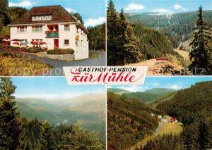 AK / Ansichtskarte Schuebelhammer Gasthof Pension Zur Muehle Panorama Schuebelhammer