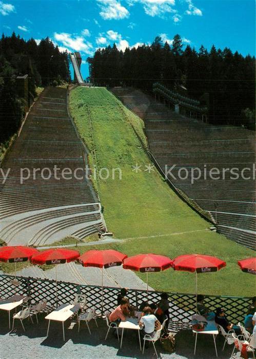 AK / Ansichtskarte Ski Flugschanze Bergisel Olympia Sprungschanze Innsbruck