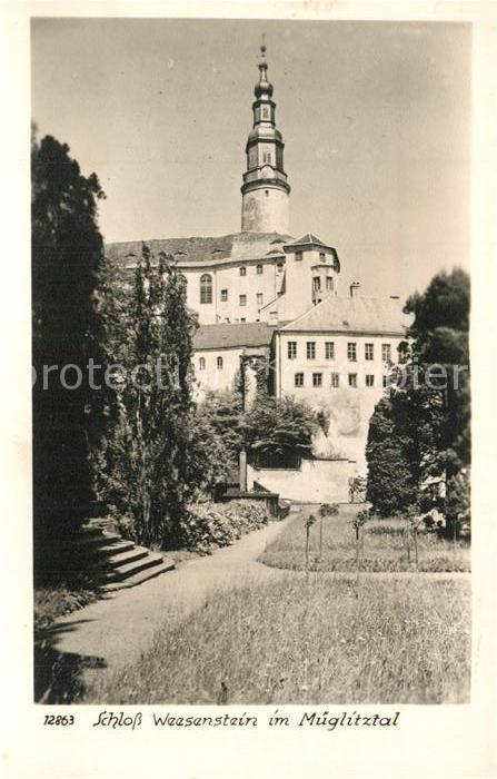 Weesenstein Schloss Weesenstein