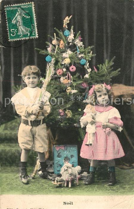Weihnachten Kinder Weihnachtsbaum Puppe Spielzeug