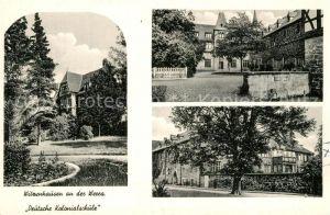Witzenhausen Deutsche Kolonialschule Witzenhausen