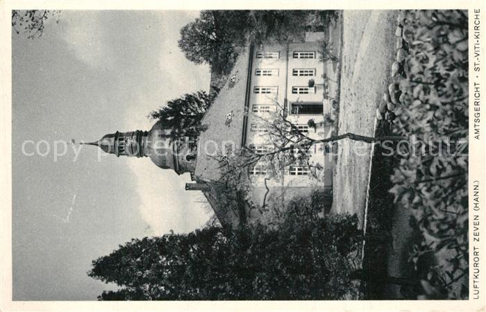 Zeven Amtsgericht Sankt Viti Kirche Zeven