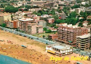 AK / Ansichtskarte Segur_de_Calafell Playa Fliegeraufnahme Segur_de_Calafell