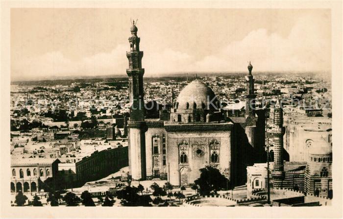 AK / Ansichtskarte Kairo_Caire Moschee Sultan Hassan