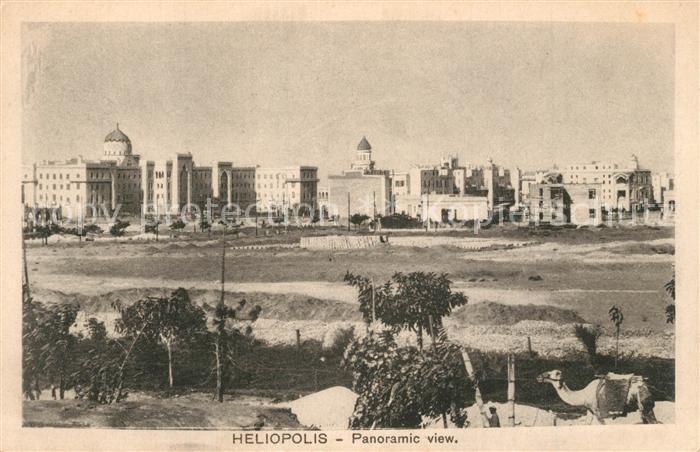 AK / Ansichtskarte Heliopolis Panorama Heliopolis