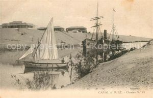 AK / Ansichtskarte Suez Canal Suez