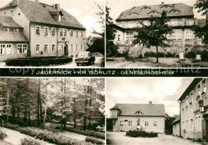 AK / Ansichtskarte Jauernick Buschbach Genesungsheim Parkanlagen Jauernick Buschbach