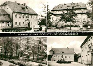 AK / Ansichtskarte Jauernick Buschbach Genesungsheim Garten Parkanlagen Jauernick Buschbach