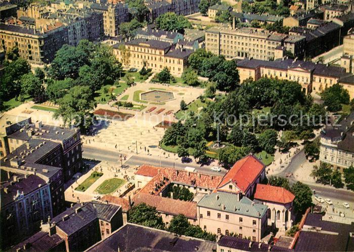 AK / Ansichtskarte Lublin Plac Litewski wido z lotu ptaka Lublin