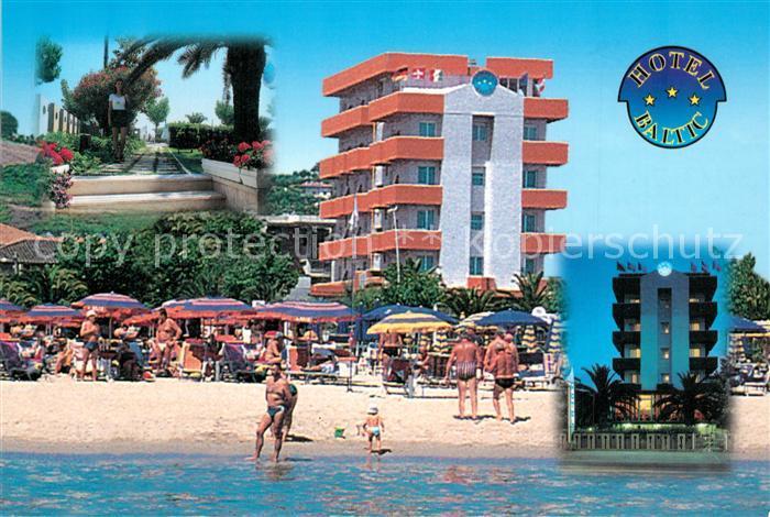 AK / Ansichtskarte Alba_Adriatica Hotel Baltic Alba Adriatica