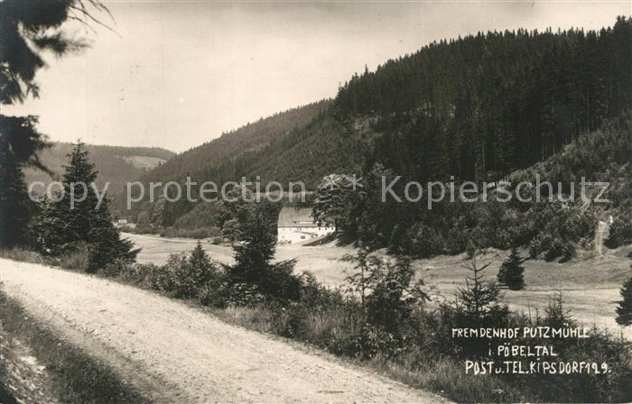 AK / Ansichtskarte Kipsdorf Putzmuehle Kipsdorf