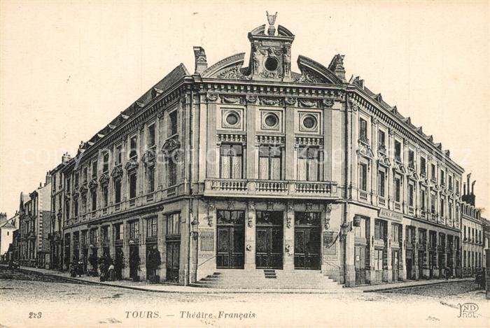 AK / Ansichtskarte Tours_Indre et Loire Theatre Francais Tours Indre et Loire