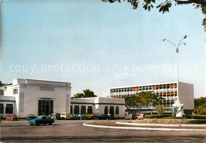 AK / Ansichtskarte Brazzaville La Poste Brazzaville