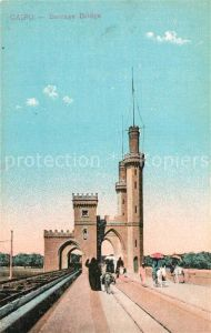 AK / Ansichtskarte Cairo_Egypt Barrage Bridge Cairo Egypt