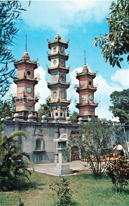 AK / Ansichtskarte Tainan Kaiyuan Temple Tainan