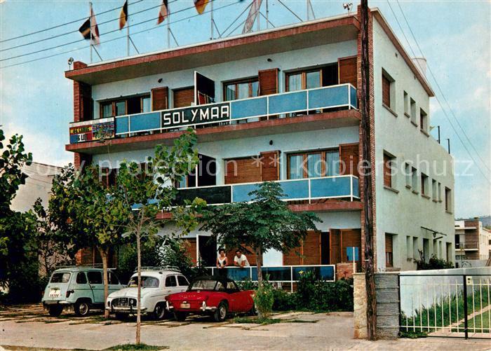 AK / Ansichtskarte Segur_de_Calafell Apartamentos Sol y Mar Segur_de_Calafell