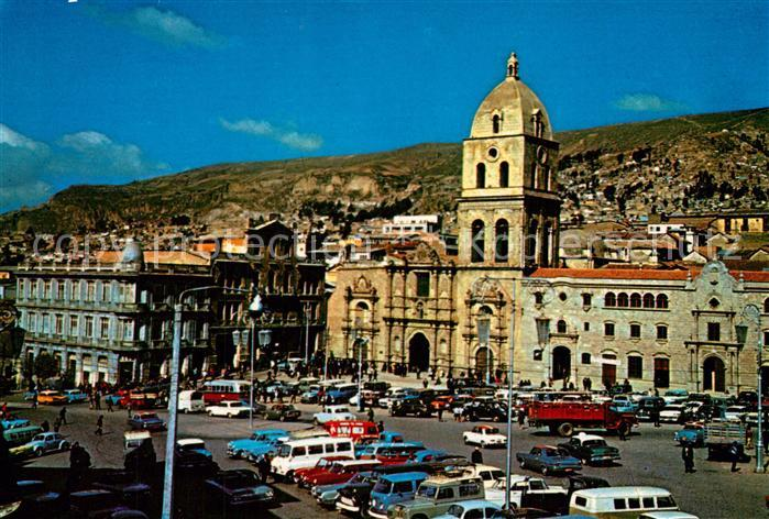AK / Ansichtskarte La_Paz_Bolivia Basilica de San Francisco La_Paz_Bolivia
