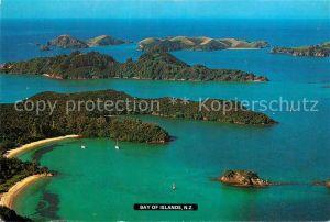 AK / Ansichtskarte New_Zealand Bay of Islands aerial view New_Zealand