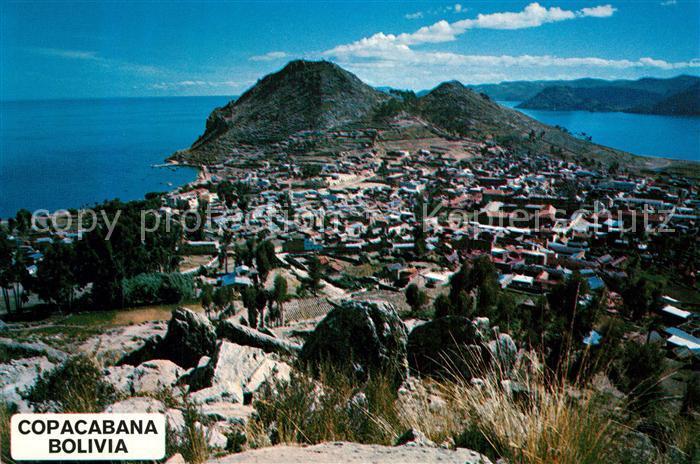 AK / Ansichtskarte La_Paz_Bolivia Vista panoramica Copacabana La_Paz_Bolivia