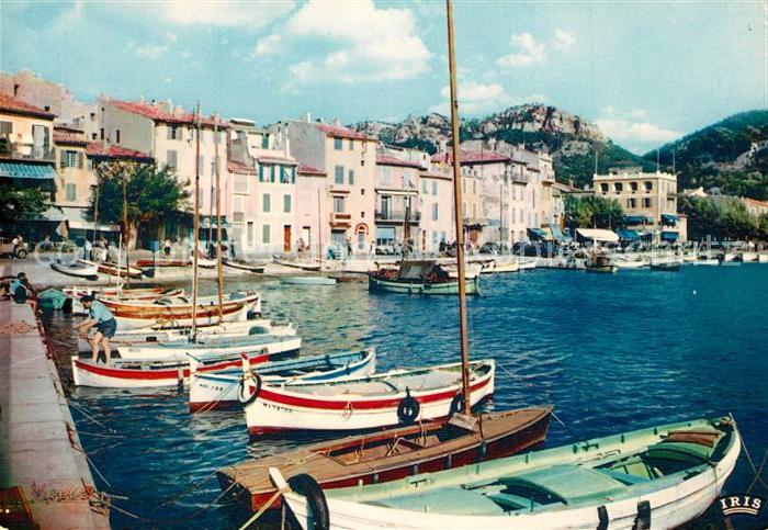 AK / Ansichtskarte Cassis Un coin du Port Cassis