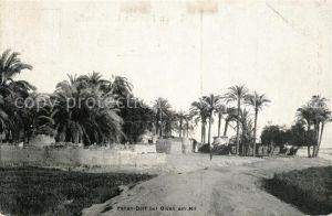 AK / Ansichtskarte Gizeh Fellah Dorf  Gizeh