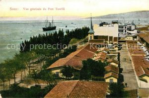AK / Ansichtskarte Suez Panorama Port Tewfik Suez