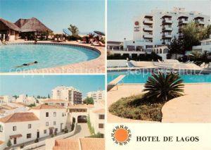 AK / Ansichtskarte Lagos_Algarve Hotel de Lagos Swimming Pool