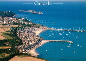 AK / Ansichtskarte Cancale Cote d Emeraude vue aerienne Cancale