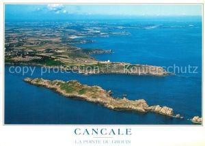 AK / Ansichtskarte Cancale La Pointe du Grouin Ile des Landes vue aerienne Cancale