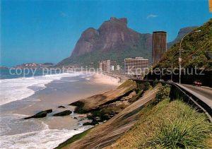 AK / Ansichtskarte Rio_de_Janeiro Sao Conrado e Pedra da Gavea Rio_de_Janeiro