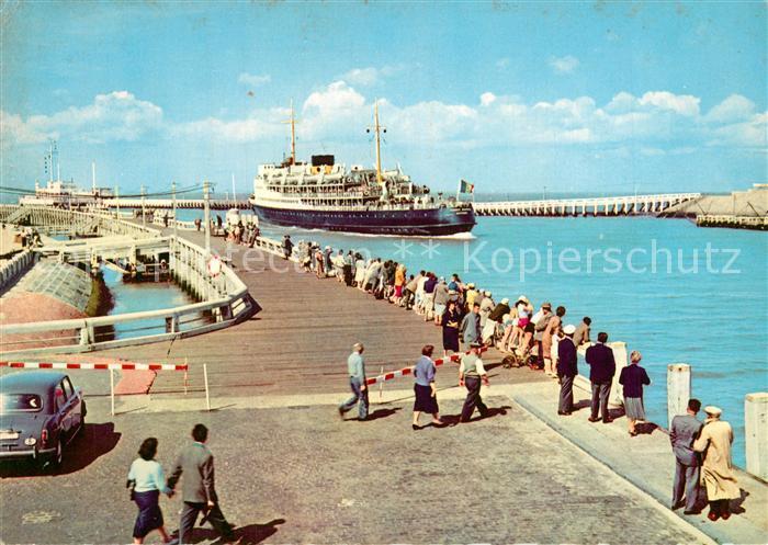 AK / Ansichtskarte Oostende_Ostende La Malle Ostende Douvres