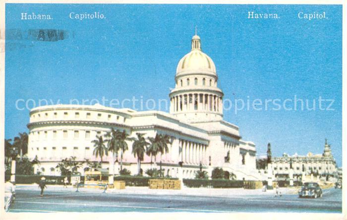 AK / Ansichtskarte Habana_Havana Capitol Habana Havana
