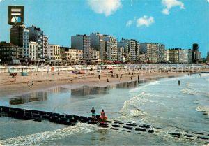 AK / Ansichtskarte Blankenberge Plage et digue de mer Strand und Promenade Blankenberge