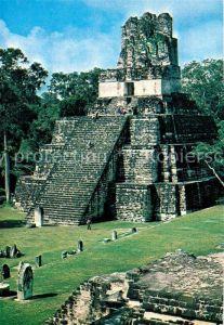 AK / Ansichtskarte Guatemala Mayaruinen von Tikal Guatemala