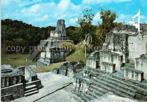 AK / Ansichtskarte Guatemala Templo Gran Jaguar Tikal Peten Mayaruinen Guatemala
