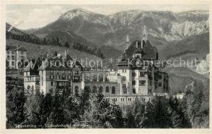 AK / Ansichtskarte Semmering_Niederoesterreich Suedbahnhotel Rox Semmering