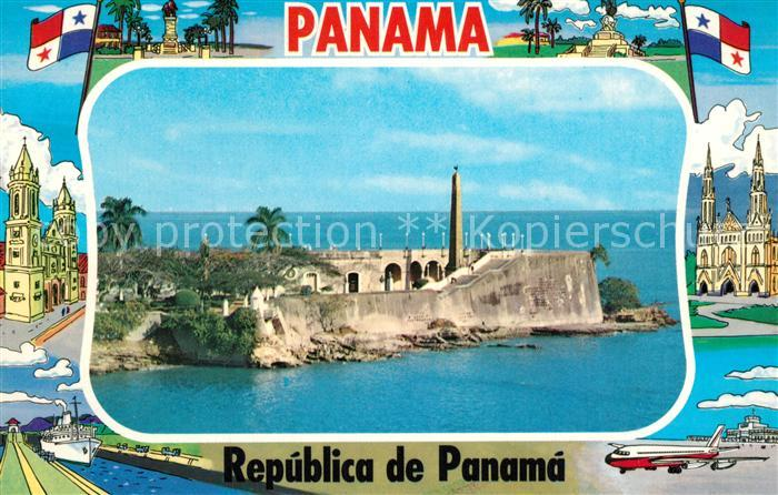 AK / Ansichtskarte Panama_City_Panama Las Bovedas fortificacion Panama_City_Panama
