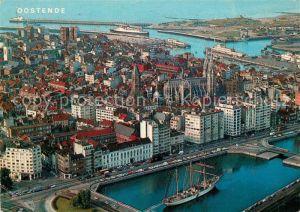 AK / Ansichtskarte Oostende_Ostende Vue aerienne
