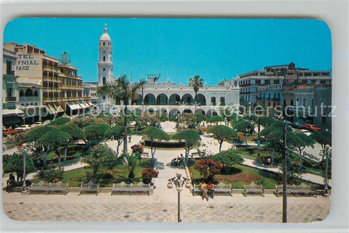 AK / Ansichtskarte Veracruz La Plaza de Armas y el Palacio Municipal Veracruz