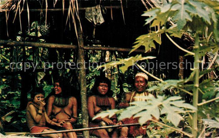 AK / Ansichtskarte Leticia Yagua Indians Leticia
