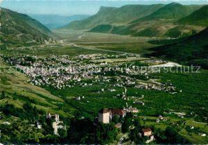 AK / Ansichtskarte Merano_Suedtirol Castel Tirolo e Castel Fontana Merano Suedtirol