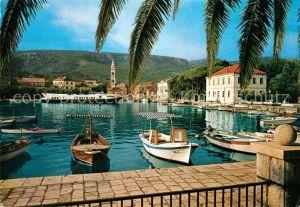 AK / Ansichtskarte Jelsa_Kroatien Bootshafen Jelsa Kroatien
