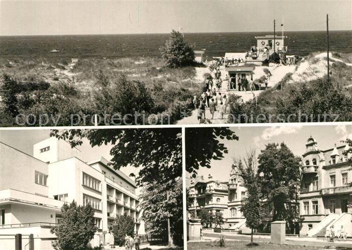 AK / Ansichtskarte Swinoujscie_Swinemuende Stadtansichten Swinoujscie Swinemuende