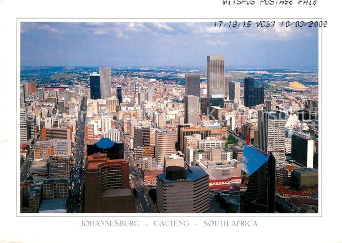 AK / Ansichtskarte Gauteng Stadtpanorama Gauteng